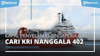 Kapal Penyelamat Singapura, Bantu Pencarian KRI Nanggala 402 yang Hilang