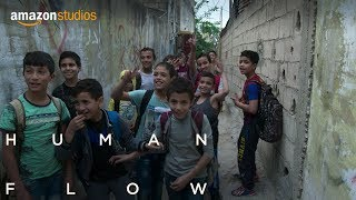 In beautiful documentary 'Human Flow' artist Ai Weiwei shows humanity of refugee crisis