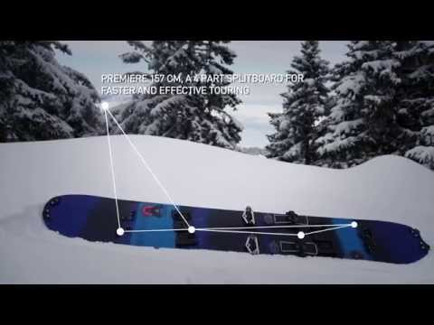 THE SALOMON PREMIERE SPLITBOARD – TRUE INNOVATION FOR MOUNTAINEERING EXPEDITION