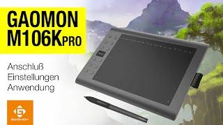 Grafiktablett Gaomon M106K Pro für Windows, Mac und Android