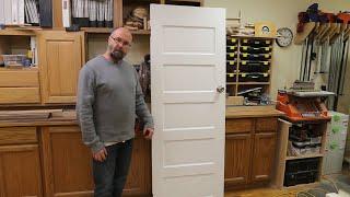 Repairing An Antique Interior Door