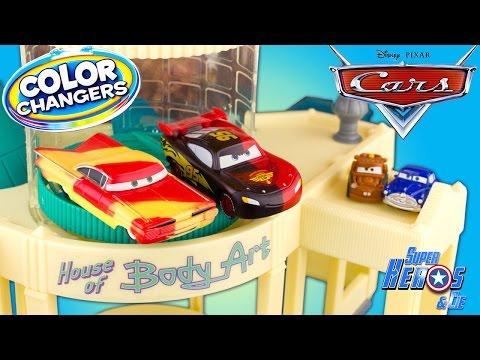 Color Peinture Playset Ramone De Atelier Disney Cars Les Changers rQtshdC