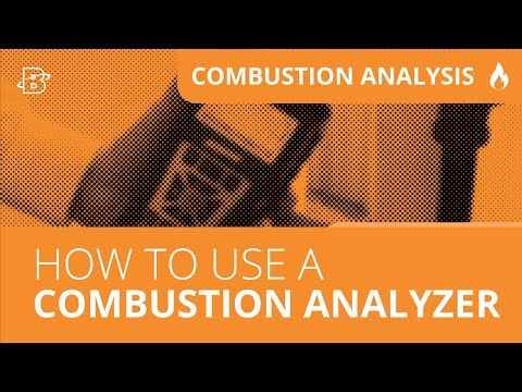 How to use a Combustion Analyzer | Easy as 1, 2, 3
