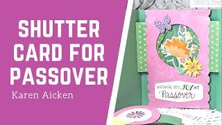 Passover Shutter Card