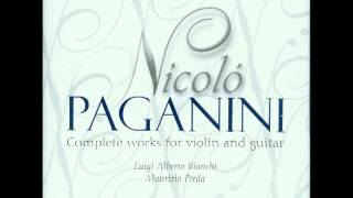 Nicolo Paganini Complete Works for Violin and Guitar CD1
