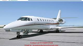 Get Air Ambulance Services in Lucknow by King