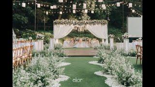 Intimate WEDDING DECOR INSPIRATION Of Raymond & Michelle By Elior Design
