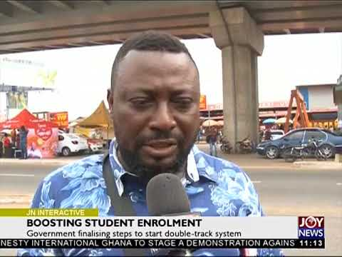 Boosting Student Enrolment - Joy News Interactive (23-7-18)
