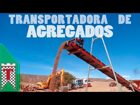 Cinta Transportadora para Agregados / Band Conveyor