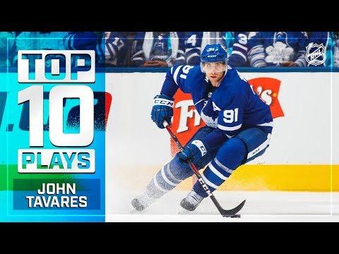 Top 10 John Tavares plays from 2018-19