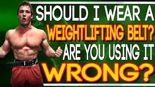 Should I Wear A Weightlifting Belt? Are You Using It Wrong? (Internal Belt)