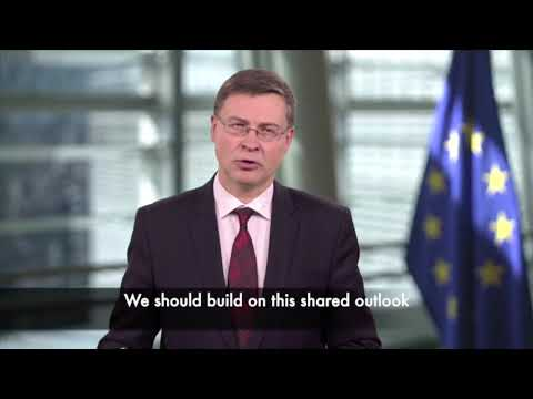 European Commission Executive Vice President Valdis Dombrovskis at the 8th ASEAN-EU Business Summit