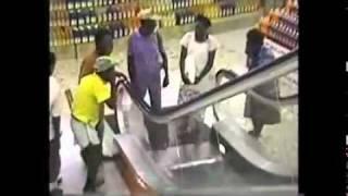 В первый раз увидел эскалатор \ Has for the first time seen the escalator
