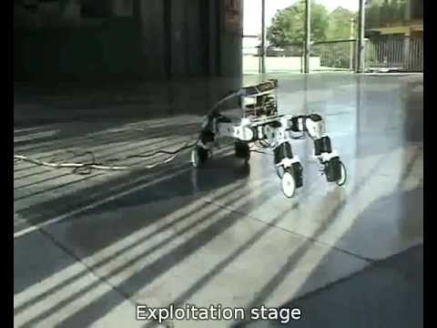Online Discovery of Locomotion Modes for Wheel-Legged Hybrid Robots