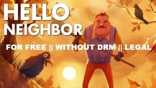 HOW TO GET Hello Neighbor AUTO UPDATE FOR FREE + GAMEPLAY