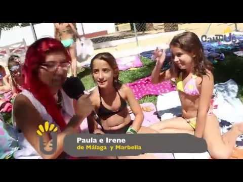 Sabinillas 2014 T1 Entrevista en la piscina