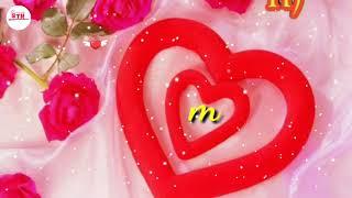 M name letter video status ll Wotshapp video new