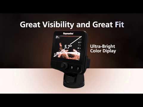 Echolotas Raymarine Dragonfly 5 PRO GPS/DownVision E70293 kaina ir informacija | Išmanioji technika ir priedai | pigu.lt