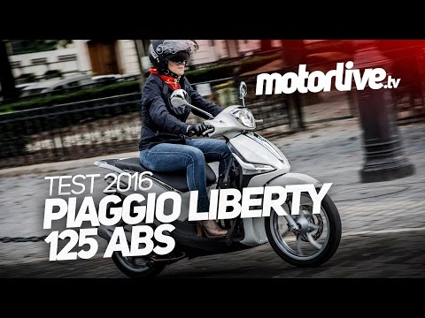 PIAGGIO Liberty 125 ABS 2016 | TEST