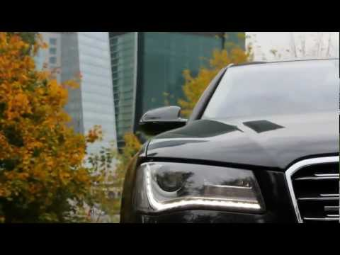 Тест-драйв Audi A8 онлайн видео