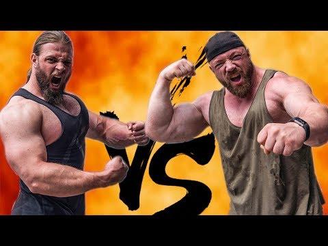 Strongman vs Bodybuilder - Bankdrück Battle!