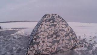 Зимняя палатка с дном на молнии