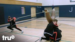 Big Trick Energy - Magicians Shock Dodgeball Team With Epic Trick (Clip) | truTV