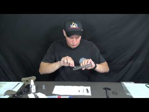 Video How to lubricate an AR-15 with Military Firearms Instructor Jesse Phillips using MOA - Part One