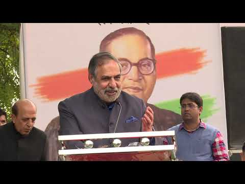 Anand Sharma Addresses at the Movement Save The Indian Democracy