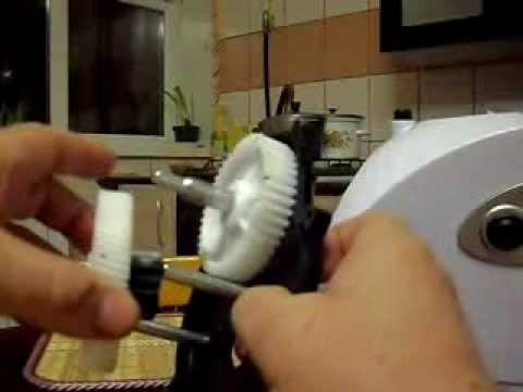 ремонт электромясорубки часть1