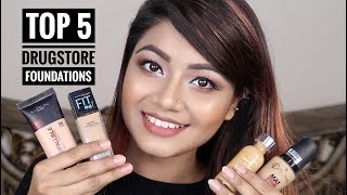 Top 5 Drugstore Foundations For Oily Skin - Best Affordable Foundations Review