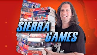 Sierra PC Game Collection - BIG Boxes!