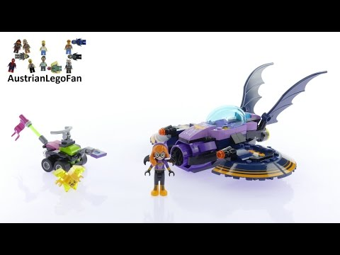 Vidéo LEGO DC Super Hero Girls 41230 : La poursuite en Batjet de Batgirl