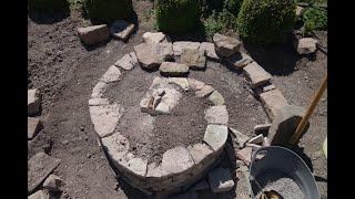 Kräuterspirale selber bauen. Teil 1
