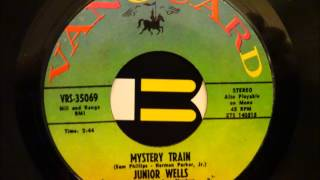 "Video thumbnail of ""JUNIOR WELLS - MYSTERY TRAIN"""