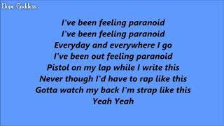 Russ   Paranoid (Lyrics)