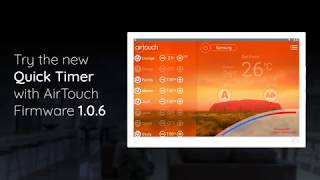 Try the Quick Timer on AirTouch 4