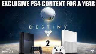 PS4 Gets Destiny 2 Timed DLC For A Year, It's Anti-Consumer & Xbox One Owners Are Angry!