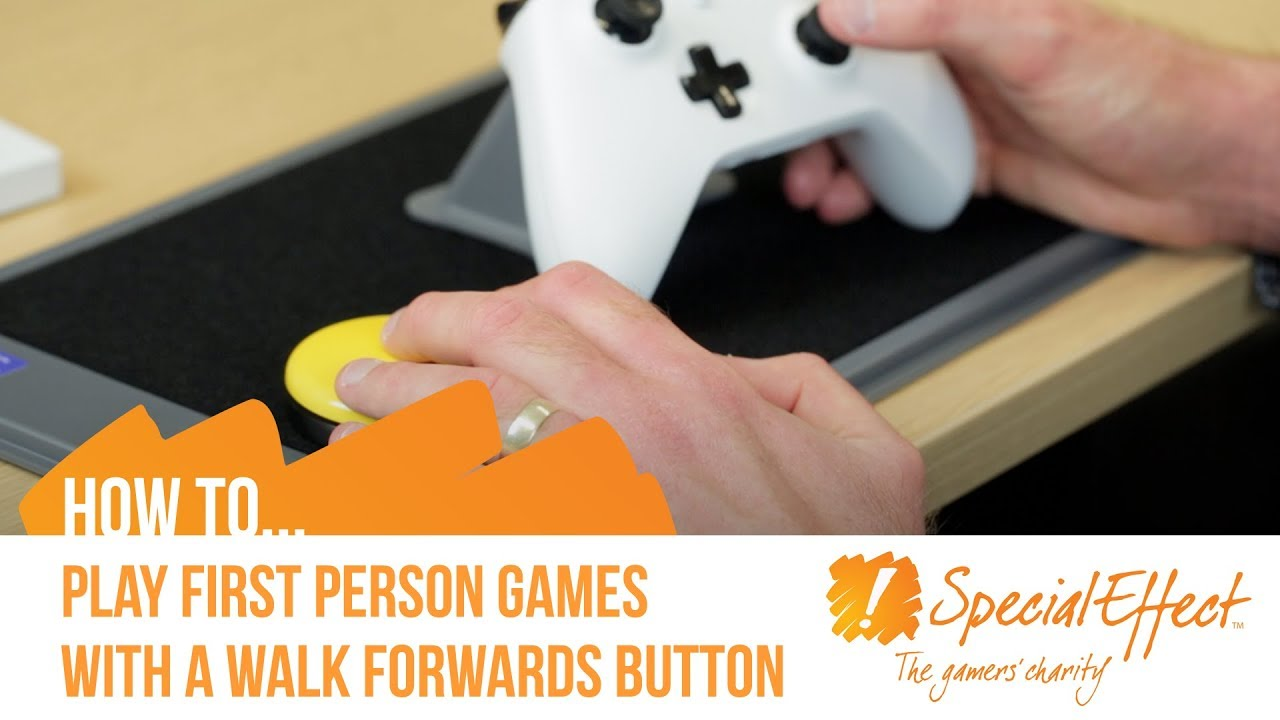 video placeholder for How To Play First Person Games Using a Walk Forwards Button