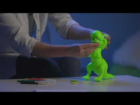 Проектор для рисования Динозавр  с фломастерами