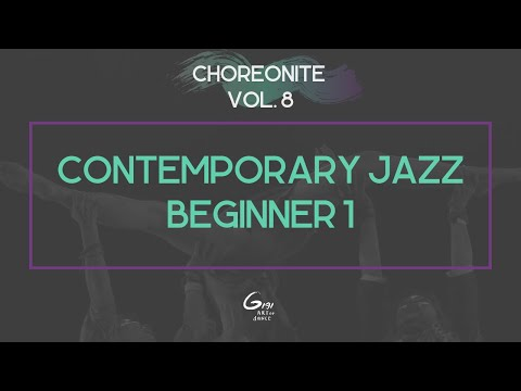 Contemporary Jazz Beginner 1 || Choreonite Vol. 8 | Gigi Art of Dance