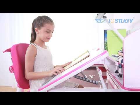 Ergonoomiline kirjutuslaud iStudy C120, tamm