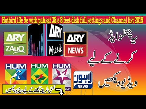 Download Paksat 38e Full Setting And Channel Listl Paksat Complete I