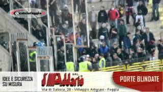 preview picture of video 'Disordini in curva nord al termine del derby Foggia-Barletta'