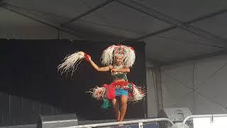 Cook Island Dance at Auckland International Cultural Festival 2018