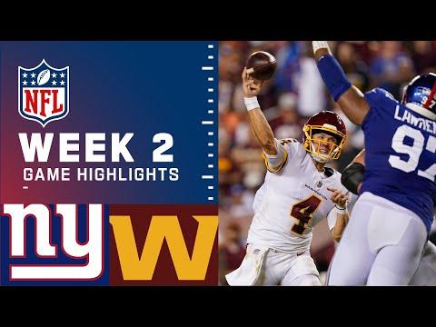Washington vs New York Giants</a> 2021-09-17