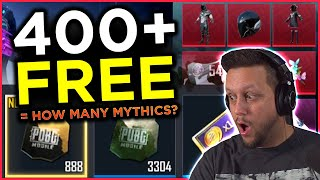 Over 400 Free Crates... How Many Mythics?