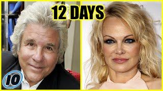 Top 10 Shortest Celebrity Marriages That Didn't Last