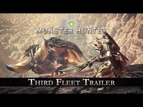 Monster Hunter: World - Third Fleet Trailer thumbnail