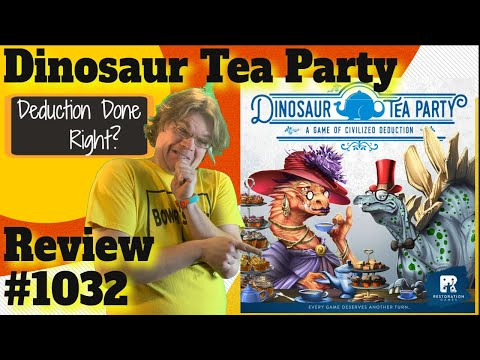 Bower's Game Corner: Dinosaur Tea Party Review